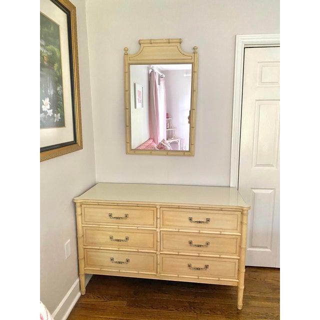"""Henry Link """"Bali Hai"""" Dresser & Mirror Set For Sale - Image 13 of 13"""
