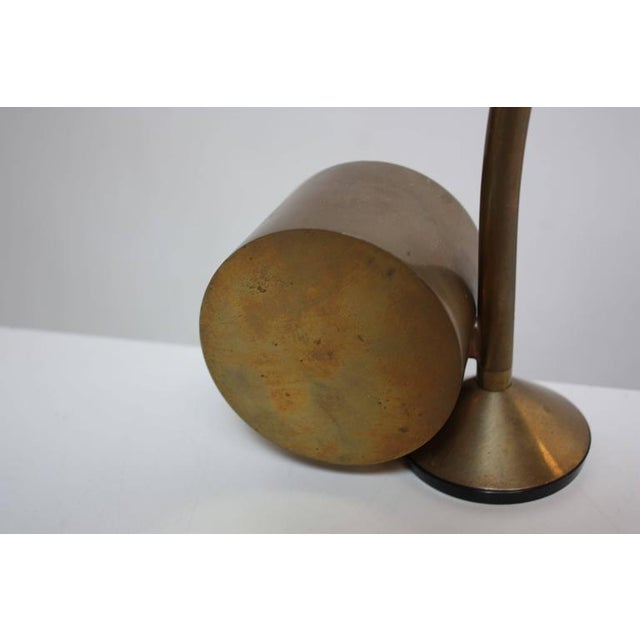 Cedric Hartman Counterweighted Brass Table Lamp - Image 5 of 10