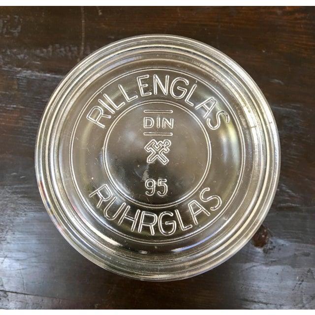 Vintage German Ruhrglass Fruit Jars - Set of 4 For Sale In Monterey, CA - Image 6 of 10