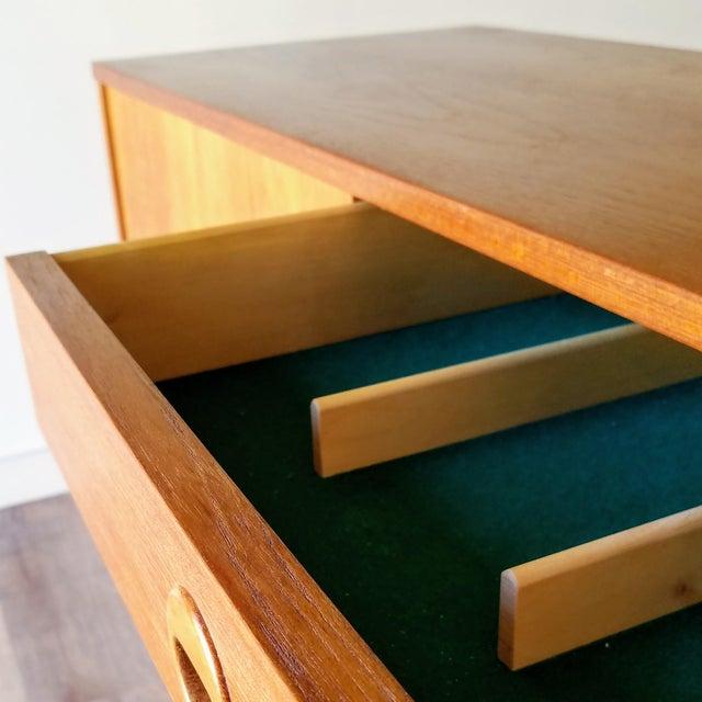 Wood Vintage Folke Ohlsson for Dux Style Teak Credenza For Sale - Image 7 of 13