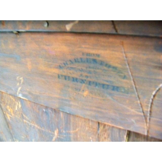 Antique Flamed Mahogany Dresser For Sale - Image 4 of 12