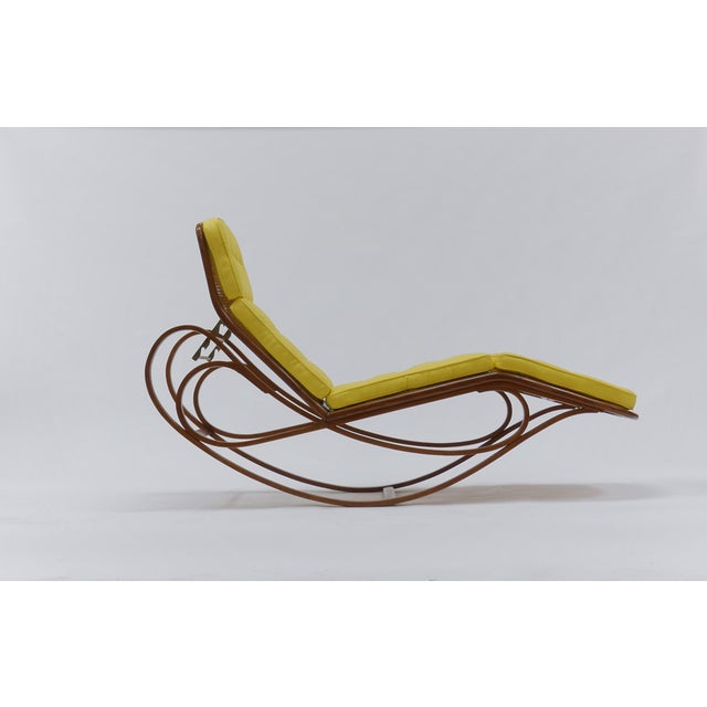 Mid-Century Modern Chaise Lounge by Edward Wormley for Dunbar For Sale - Image 3 of 12