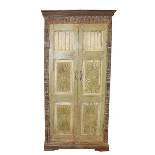 1920's Antique Rustic Armoire Preview