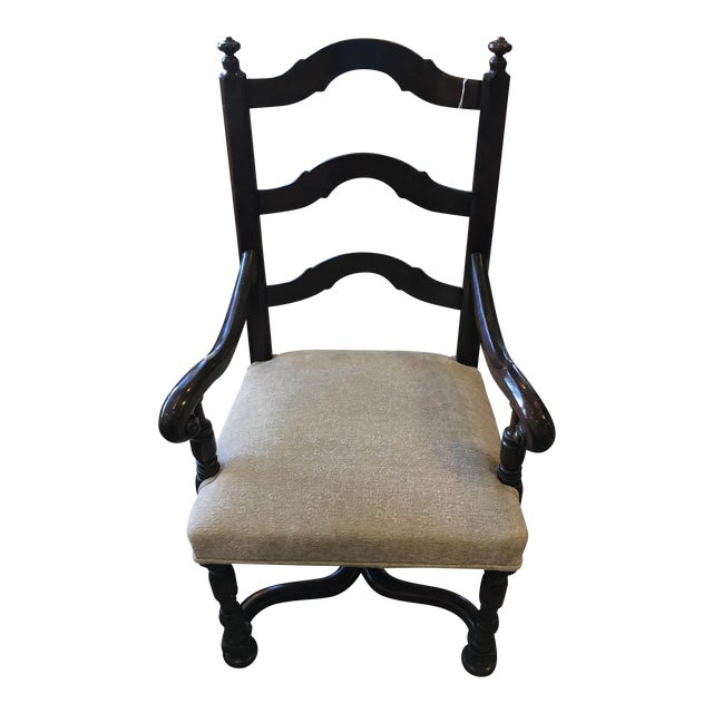 Louis Xlll Wood Ladder Back Chair - Image 1 of 5