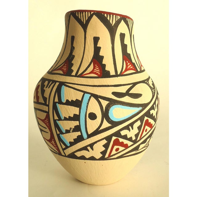 Jemez Native American Pottery Vase - Image 5 of 7