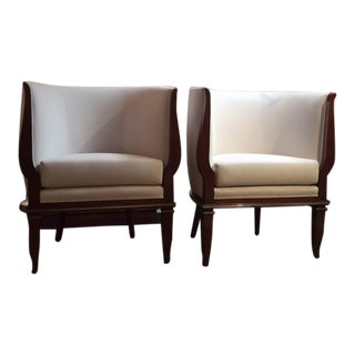 1940s Vintage Armchairs- A Pair For Sale