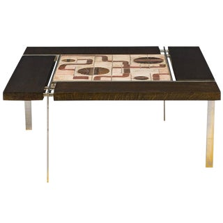 Svend Aage Jessen Square Coffee Table For Sale