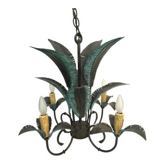 Arte De Mexico Palm Tree Chandelier