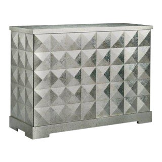 Barbara Barry for Baker Diamond Accent Cabinet For Sale