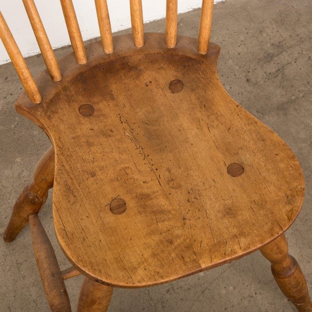 Small Danish Shaker Style Windsor Chair For Sale - Image 10 of 12