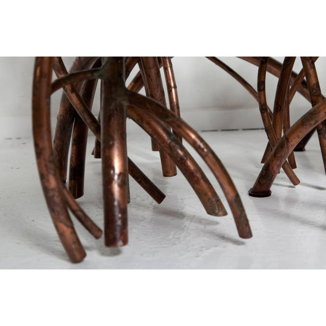 Copper Copper Mangrove Coffee Table by Garland Faulkner For Sale - Image 8 of 13