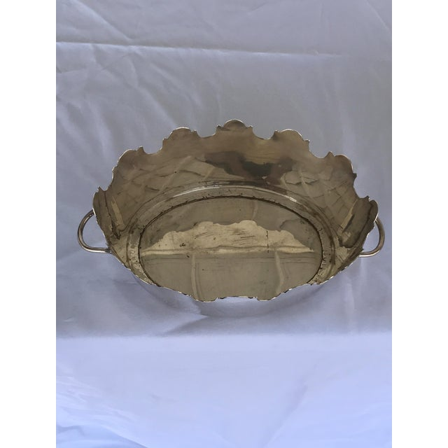 Silver Plate Monteith Baskets - a Pair For Sale - Image 4 of 5