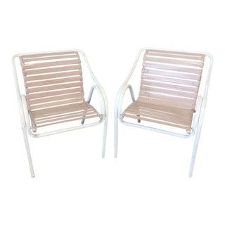 Brown Jordan Style Paragon Patio Chairs - A Pair