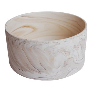 Ceramic Marbleized Stacking Bowls - Set of 3
