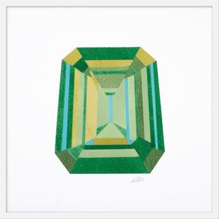 """Medium """"Emerald Cut"""" Print by Rankin Willard, 30"""" X 30"""" For Sale"""