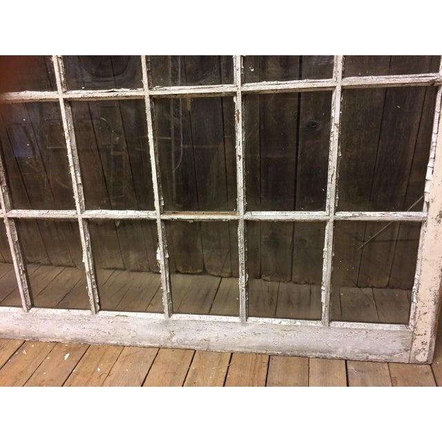 Vintage 24 Pane Wood Window - Image 5 of 11