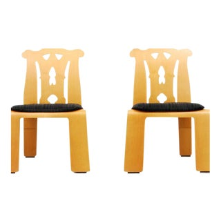"Pair of Robert Venturi ""Chippendale"" Chairs"