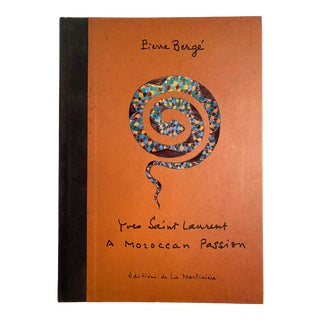 Yves Saint Laurent a Moroccan Passion Book For Sale