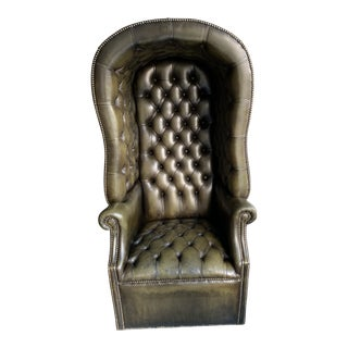 Leather Porters Chair For Sale