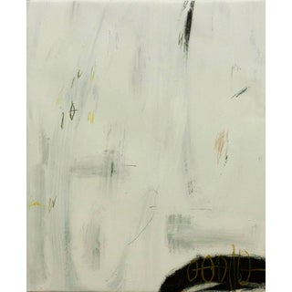"""""""Therein Lies the Distress and Anguish"""" Contemporary Minimalist Mixed-Media Painting by Brian Jerome For Sale"""