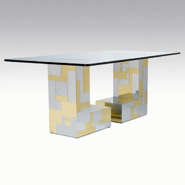 Mid-Century Modern Paul Evans for Directional Cityscape Dining Table For Sale - Image 3 of 3