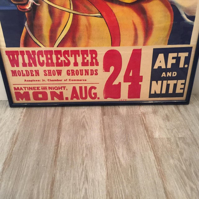 Lithograph 1959 Vintage King Brothers Circus Poster For Sale - Image 7 of 12