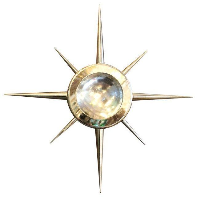 Star Flush Mount / Sconce by Fabio Ltd (2 Available) For Sale - Image 9 of 9