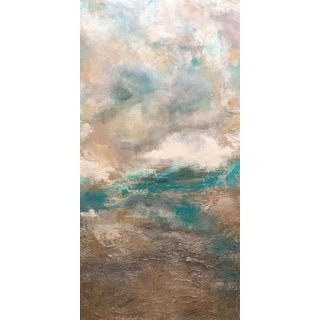 """Dream"" Original Abstract Seascape Coastal Painting For Sale"