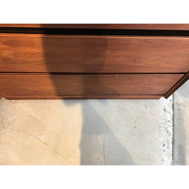 Dillingham Walnut Dresser For Sale - Image 9 of 10