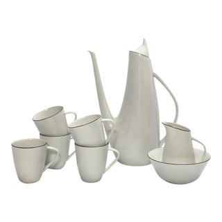 50s Modernist Epiag d.f. Coffee Service for 5 For Sale