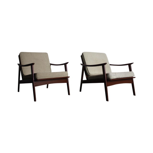 Mid Century Modern Yugoslavian Chairs - Pair - Image 1 of 4