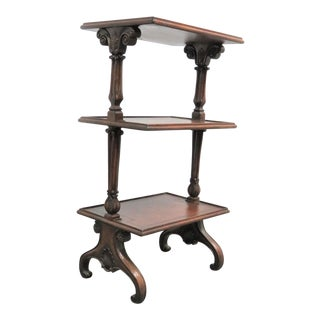 Regency John Richards 3 Tier Dumbwaiter For Sale