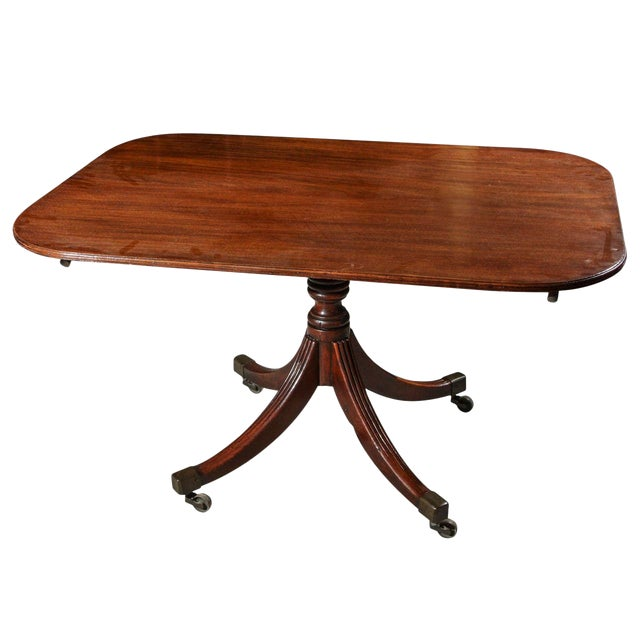 Tilt Top Breakfast or Side Table in Mahogany For Sale
