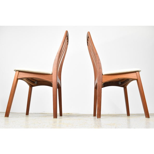 Benny Linden Teak Highback Dining Chairs - 6 - Image 5 of 11