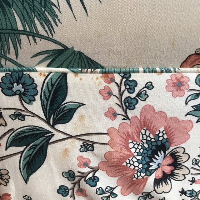 1980s Vintage Pearson British West Indies Jungle Print Sofa For Sale - Image 11 of 13