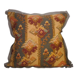 19th Century French Fabric Pillow For Sale