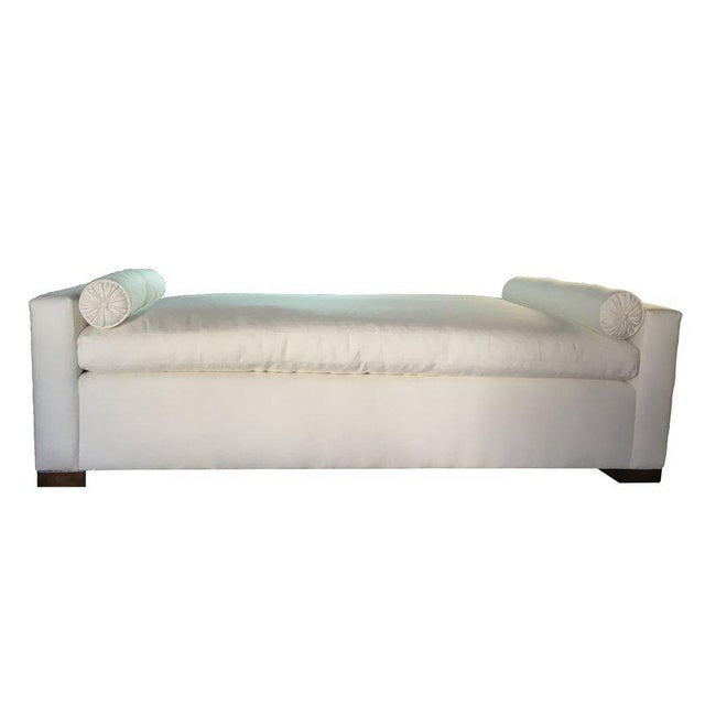 """Custom to Order """"Some Like It Linen"""" Furniture Mineral Hues For Sale - Image 12 of 12"""