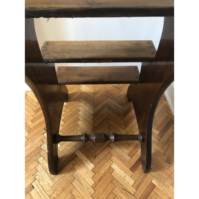 19th Century Regency Mahogany & Pine Library Steps For Sale - Image 10 of 13