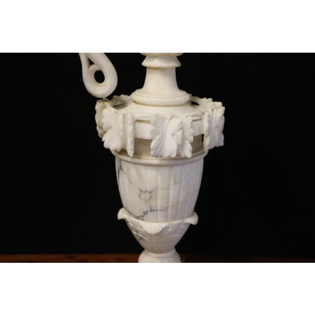 Alabaster Table Lamps - A Pair - Image 4 of 10