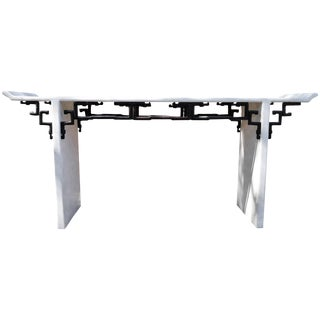 Maitland Smith Asian Style Alter Console Table For Sale