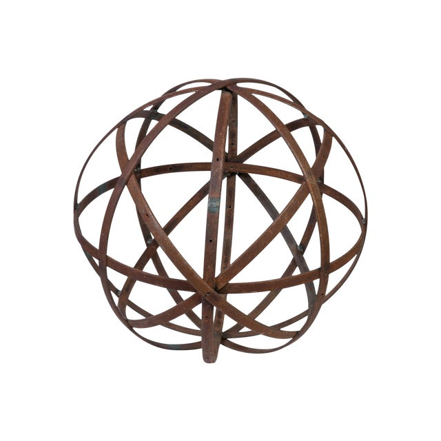 Small Steel Sphere For Sale
