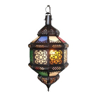 Colorful Moroccan Lantern