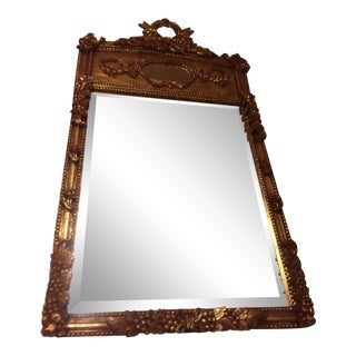 John Richard Gilded Gold Wall Mirror For Sale
