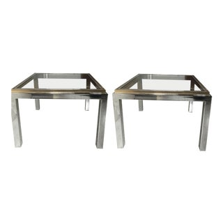 Vintage Willy Rizzo Side Tables - A Pair