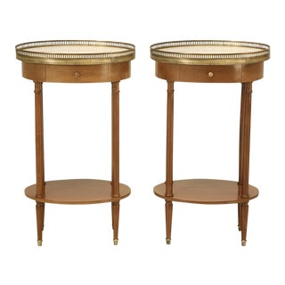 Louis XVI Style Side Tables - A Pair