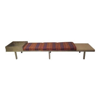 1950s George Nelson Style Modular Bench For Sale