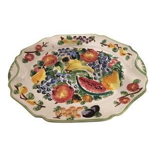 Italian Hand Painted Decorative Platter