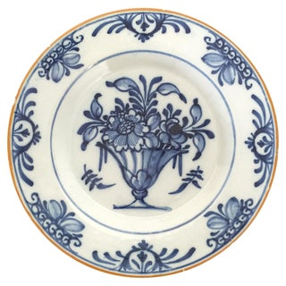 18t Century Decorated Dutch Plate