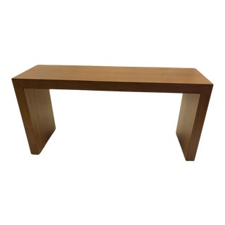 1978 Paul Mayen Parson Style Modern Teak Console For Sale