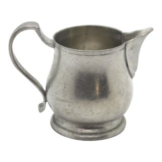 Pewter Creamer by Match Italian Pewter For Sale